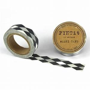 Washi Tape Schwarz : washi masking tape rauten grau wei schwarz ~ Eleganceandgraceweddings.com Haus und Dekorationen