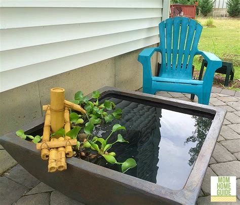 Aquascape Patio Pond by My New Patio Pond And Patio Pond Giveaway