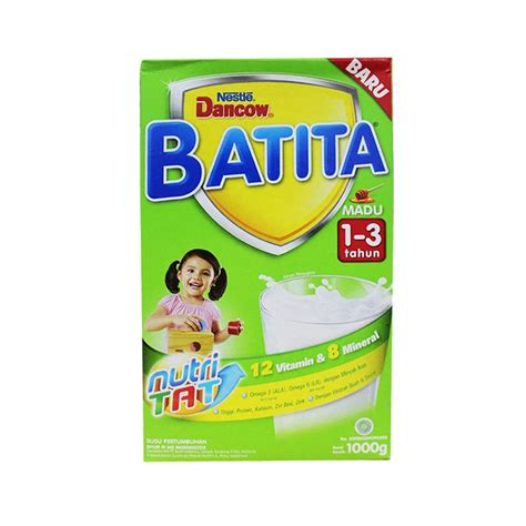 Dancow 3 Madu 1000g jual nestle dancow batita madu 1000 g harga