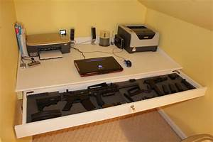 Secret Gun Storage Drawer StashVault