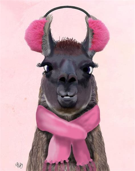 llama print chilly llama llama wall art nursery art for kids room décor playroom art baby