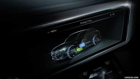 2018 Audi H Tron Quattro Suv Concept Central Console