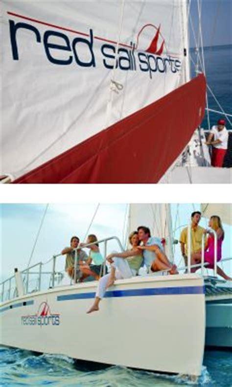 Private Catamaran In Aruba by Aruba Sailing With Catamaran At Red Sail Sports