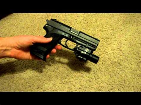 hk usp 45 laser light surefire x400 laser flashlight combo on my hk usp 45 youtube