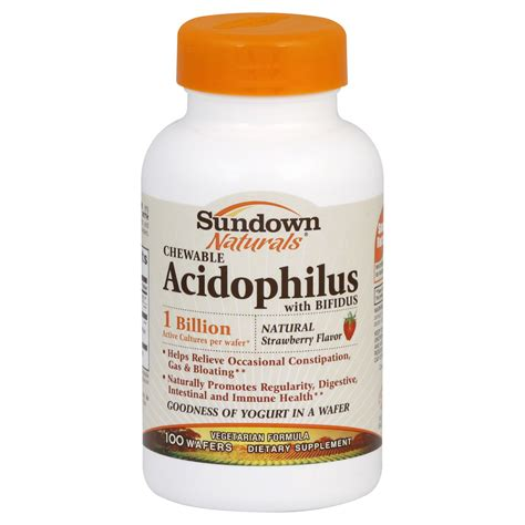 Sundown Acidophilus 1c Chewable 100 Ct