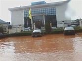 This is Asaba when it rains! – Asaba. Delta State Nigeria.