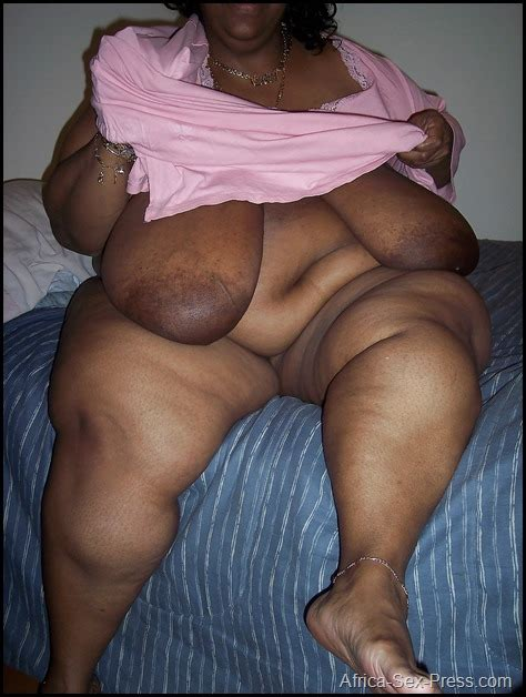Flabby Big Tits And Big Belly African Mama Africa Sex Press