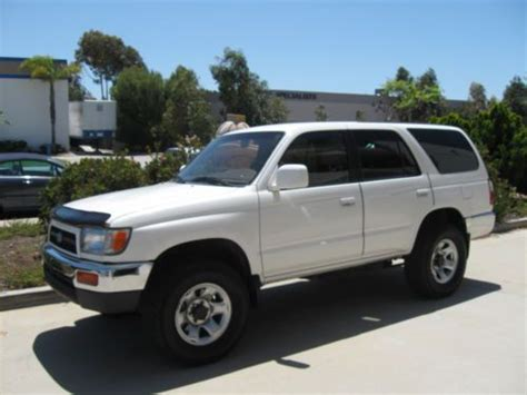 airbag deployment 2001 toyota 4runner parking system sell used 1997 toyota 4runner sr5 3 4l only 124k 1owner white color 4wd new tires in san