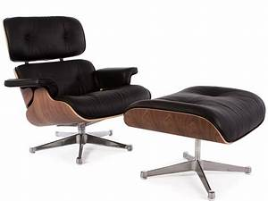 fauteuil lounge eames noyer With fauteuil lounge design