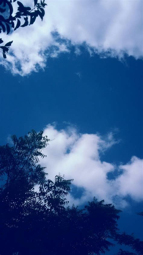 aesthetic blue sky wallpapers