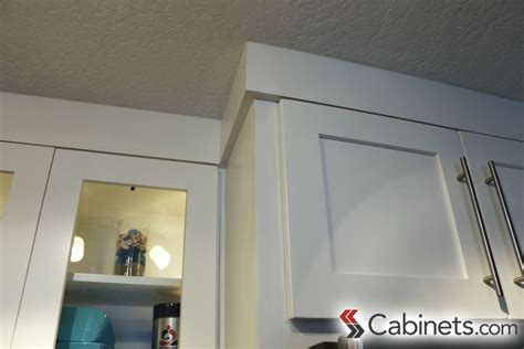 kitchen cabinet crown molding styles simple crown moulding is an extension of the modern style