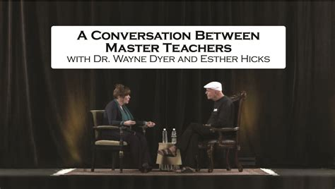 hicks esther wayne dyer dr conversation masters between abraham ester