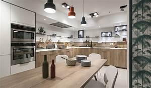 les plus belles cuisines bois mobalpa mobalpa With plus belle cuisine moderne