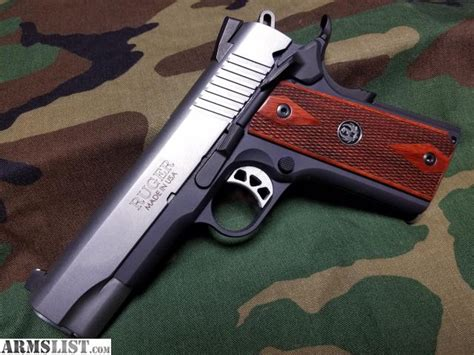 armslist  sale ruger  lightweight commander  acp
