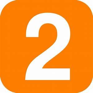 Blue Number 2 Clip Art at Clker.com