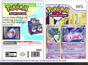 pokemon trading card game wii cover