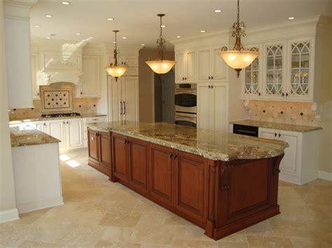 2 level kitchen island large 2 level island kitchen traditional kitchen