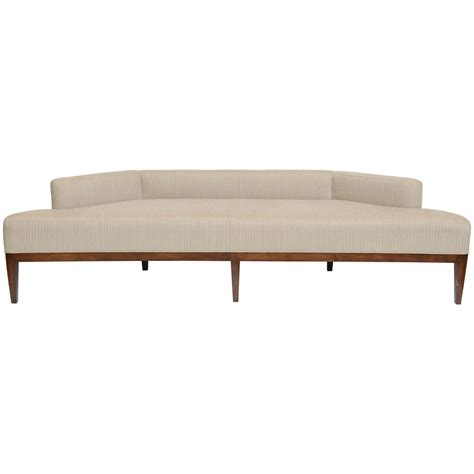 exceptional sleek low angular sofa settee for sale at 1stdibs
