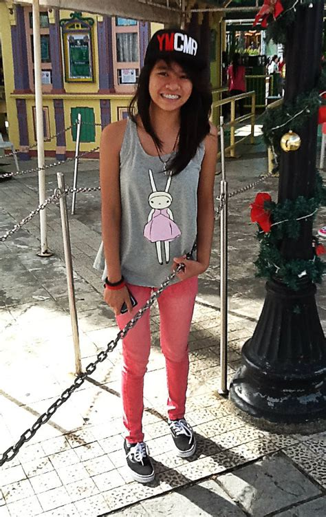 Loreen Alyana Macasu - Vans Authentic Black Leviu0026#39;su00ae Red Faded Jeans Pop Culture Ymcmb Cap ...