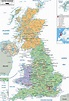 Maps of the United Kingdom   Detailed map of Great Britain ...