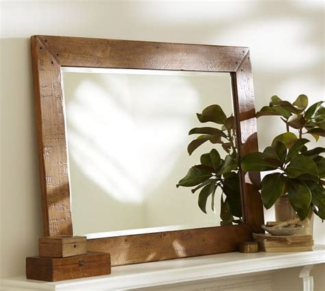 pottery barn mirror benchwright mirror pottery barn