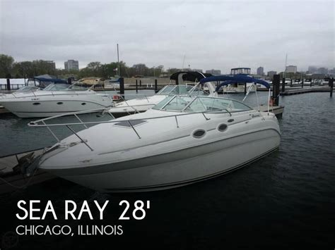 Used Sea Ray Boats For Sale In Illinois by For Sale Used 2002 Sea Ray 260 Sundancer In Chicago
