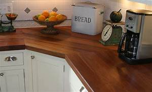Cherry Wood Kitchen Countertop by Grothouse - Traditional