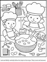 Coloring Cook Dover Publications Sample Story Chandeleur Books Dessin Colouring Cucina Coloriage Via Kleurplaten Stencil Couleur Welcome Cupcake Colorare Disegni sketch template