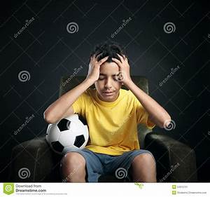 Soccer Failure Stock Image - Image: 34915751