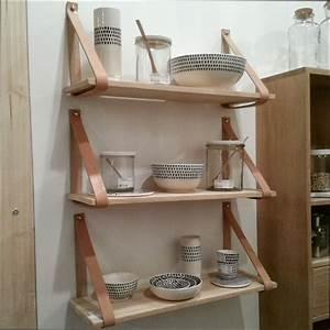 Etagere Murale Pour Cuisine : cuisine bois etagere murale en bois pour cuisine ~ Dailycaller-alerts.com Idées de Décoration