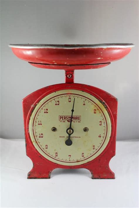 vintage kitchen scale vintage industrial retro persinware kitchen scales ebay
