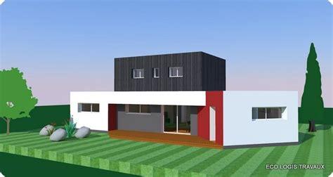 plan amenagement cuisine gratuit plan de maison moderne à toit plat plan gratuit eco