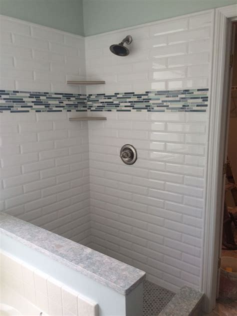 selecting shower tile tips  tricks white subway