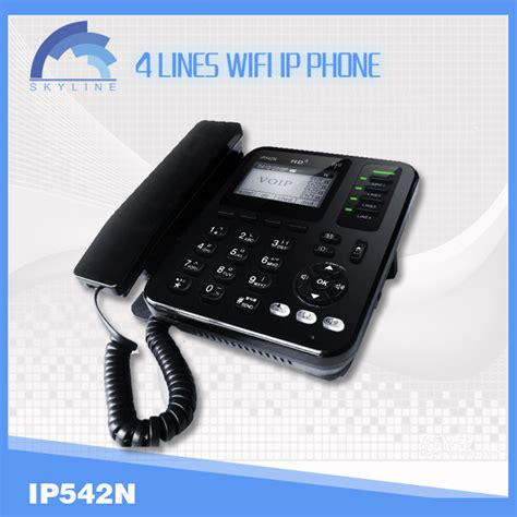wifi voip phone wireless sip ip phone with 4 line registration wifi voip
