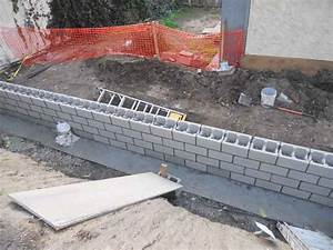 retaining walls cal retrofit With building a garden wall with concrete blocks