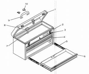 Craftsman 706653373 Tool Chest Parts