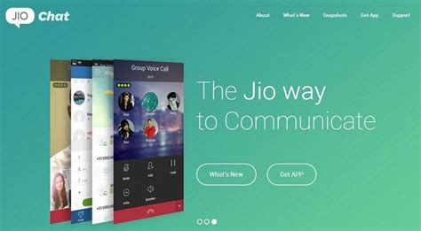reliance jio chat launched it s a featured instant messaging voice calling app