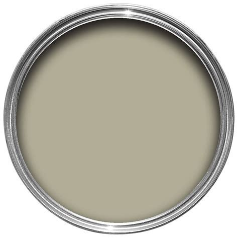 Colours Olive Green Matt Emulsion Paint 2.5L   Departments