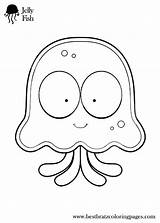 Coloring Sheets Inchworm Pages Cartoon Printable Preschool Jellyfish Template Colouring Jokes Bratz Getcolorings Ocean Easy sketch template