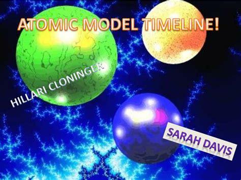 Ppt Atomic Model Timeline Powerpoint Presentation Id