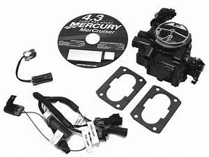 Mercruiser 4 3l Carburetor Alpha    Bravo Carburetor Kit
