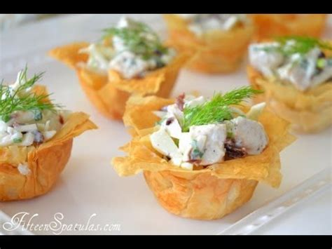 filo pastry cases canapes how to your own phyllo cups