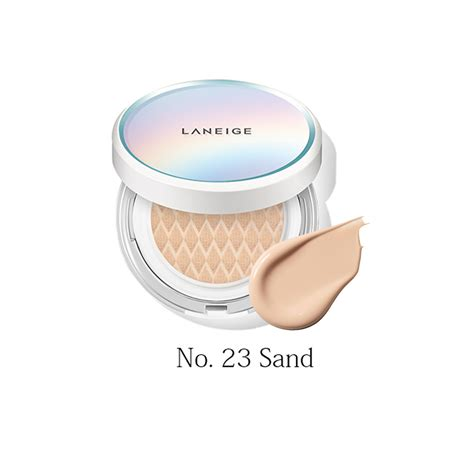 laneige pore cushion laneige bb cushion pore spf50 pa no23 sand