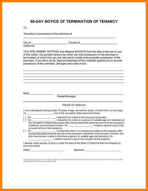 free oregon 60 day notice to vacate form 60 day notice vacate template complete concept move out