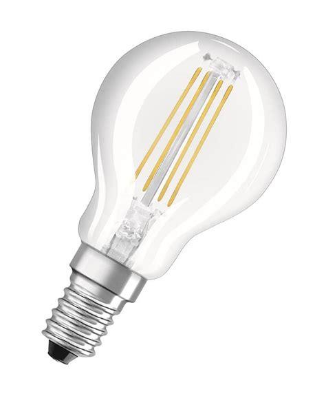 Osram Led Birnen by Osram E14 Led Birne Retrofit Filament 4w 430lm Warmweiss