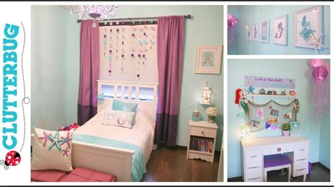 diy mermaid bedroom on a budget before and after room