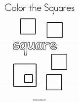 Coloring Squares Shape Twisty Noodle Square Sheets Printable Twistynoodle Built California Usa Mini sketch template