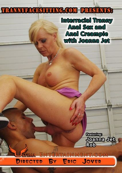 Interracial Tranny Anal Sex And Anal Creampie With Joanna