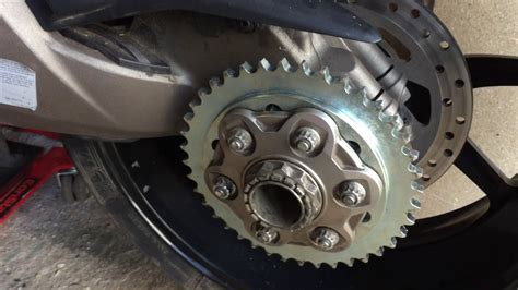 Changing Chain And Sprockets Ducati Multistrada Dvt 2016