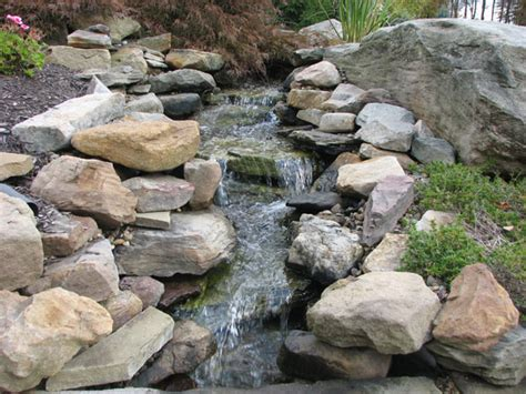 rock garden with waterfall rock waterfalls for landscaping rock ponds http kleinslandscaping com water features